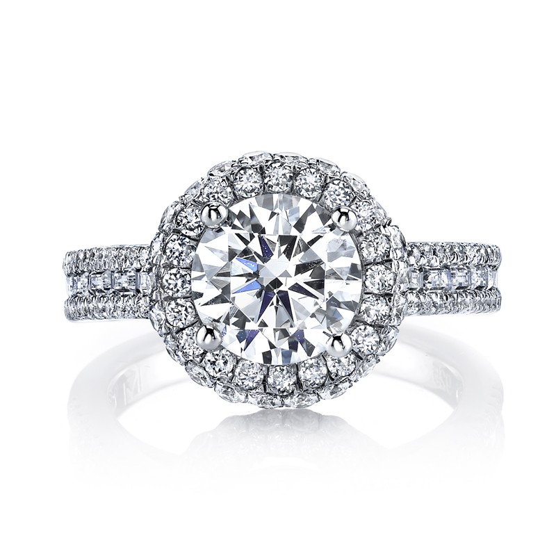 MARS 25637 Diamond Engagement Ring 1.09 Ctw.