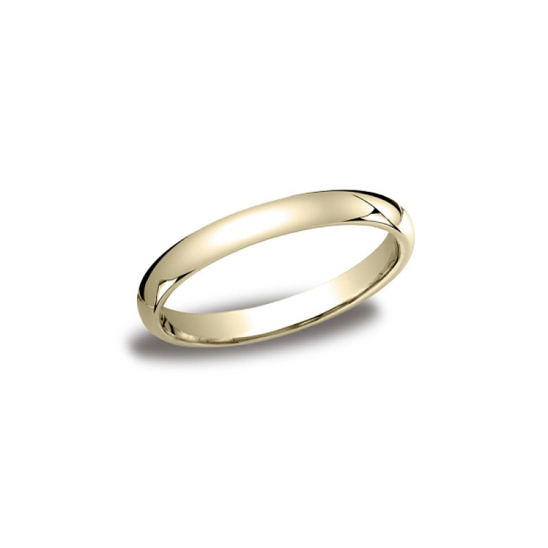 Classic Yellow Gold 3mm Band