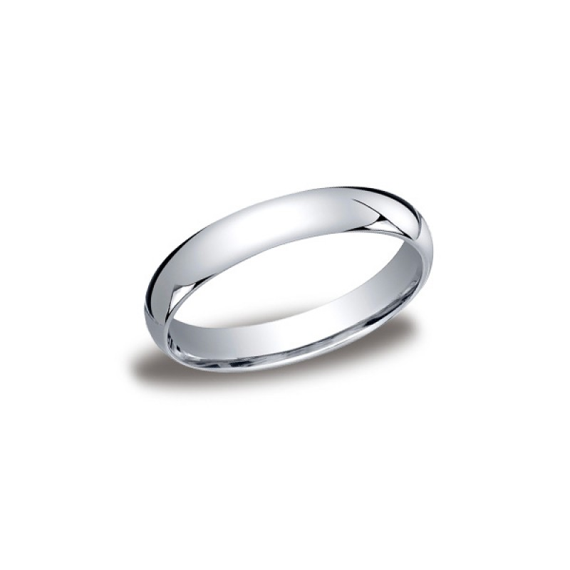 Classic White Gold 4mm Band