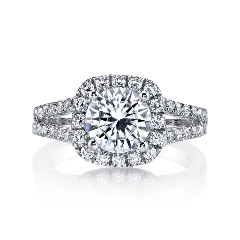MARS 25563 Diamond Engagement Ring 0.95 Ctw.