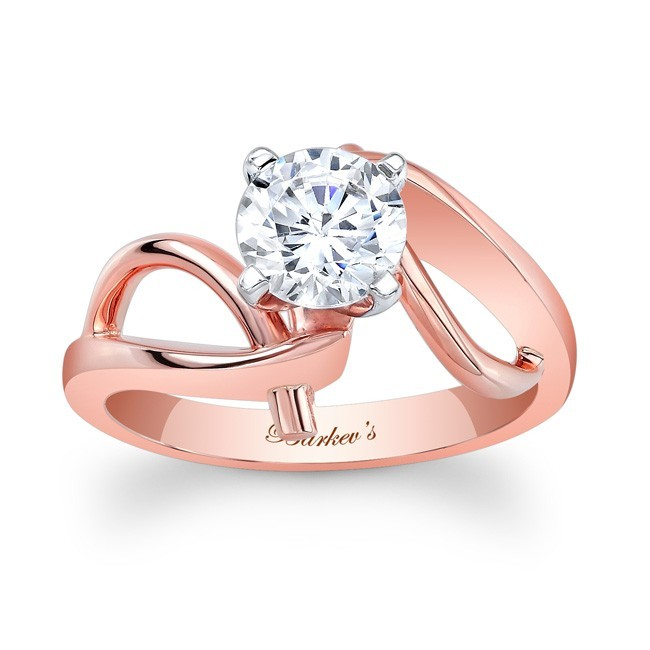 Rose Gold Solitaire