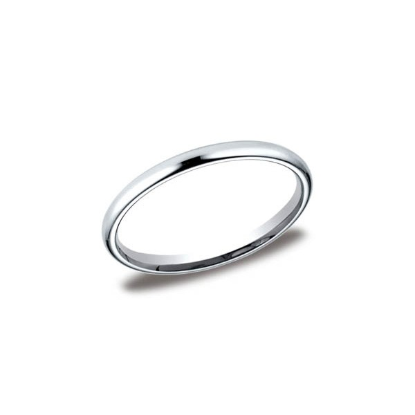 Classic White Gold 2mm Band