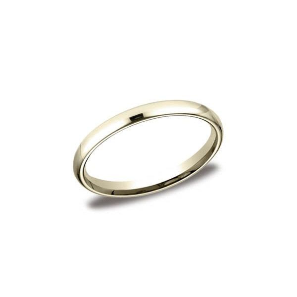 Classic Yellow Gold 2.5mm Band