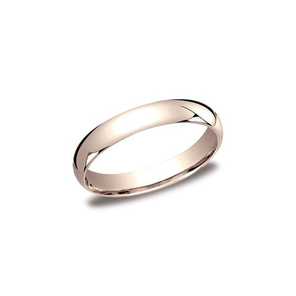 Classic Rose Gold 4mm Band
