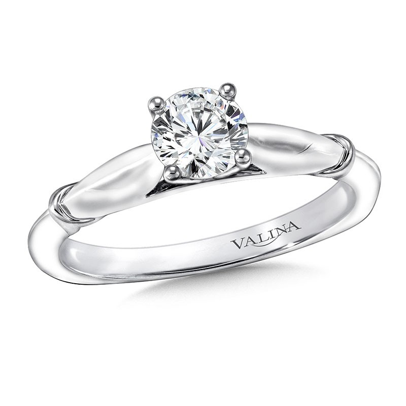 Engagement Ring R9424W-.625