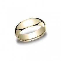 Classic Yellow Gold 7mm Band