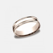 Designs Rose Gold 6mm Band