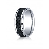 Benchmark 8mm Comfort Fit Wedding Band CF68900CFCC