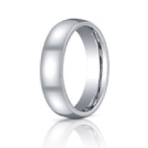 Benchmark 6mm Comfort Fit Cobalt Chrome Wedding Band - CF160CC