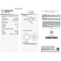 2.04 carat Round Cut Lab Grown Loose Diamond F-VS2 IGI CERTIFIED LG361909683