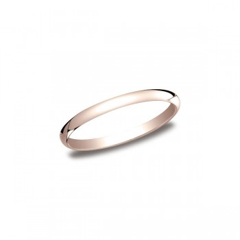 Classic Rose Gold 2mm Band