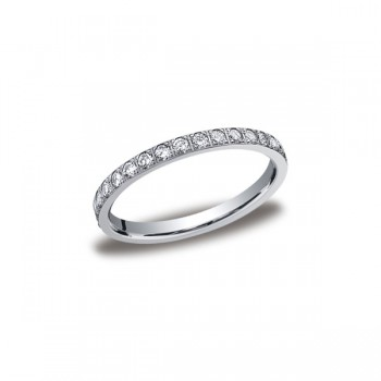 Diamonds White Gold 2mm Diamond Band