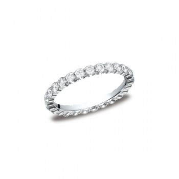 Diamonds White Gold 2.5mm Diamond Band