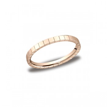 Designs Rose Gold 2mm Band
