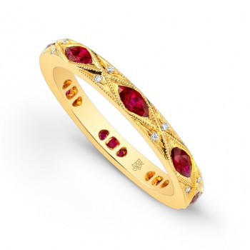 R9336-D-R MARQUISE BAND
