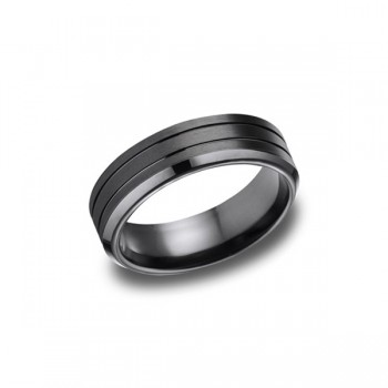 Forge Black Cobalt 7mm Band