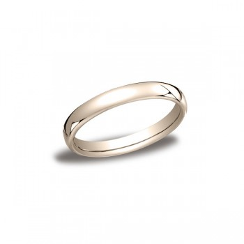 Classic Rose Gold 3.5mm Band
