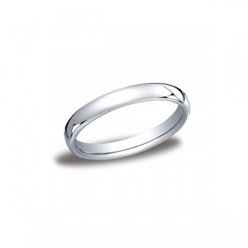 Classic White Gold 3.5mm Band