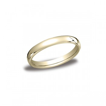 Classic Yellow Gold 3.5mm Band
