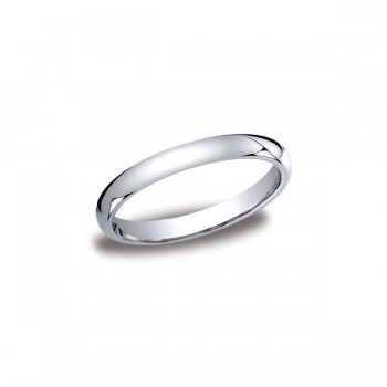 Classic White Gold 3mm Band