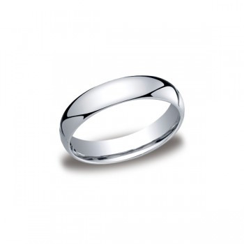Classic White Gold 5mm Band