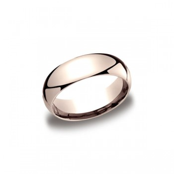 Classic Rose Gold 7mm Band