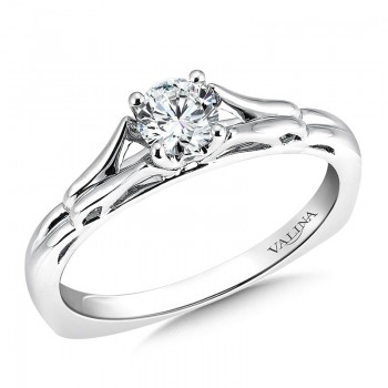 Engagement Ring R9418W-.33