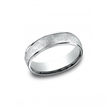 Designs White Gold 6.5mm Band