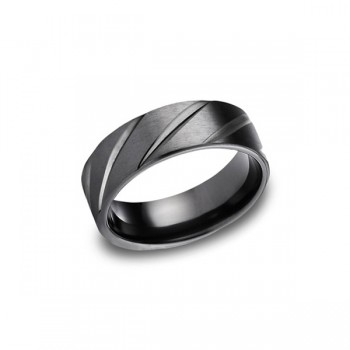 Forge Black Titanium 7.5mm Band